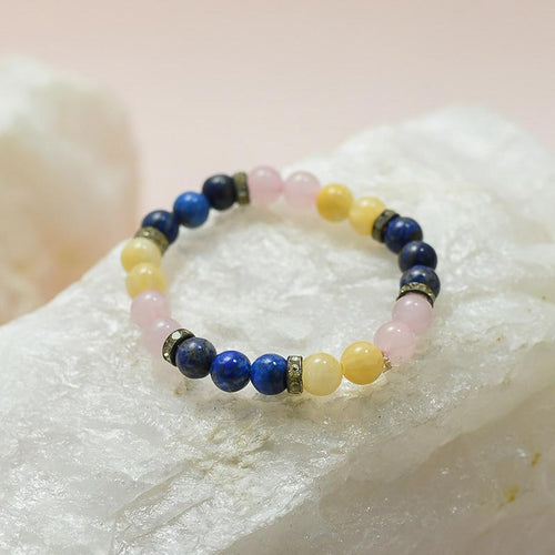 Cancer Zodiac Crystal Bracelet
