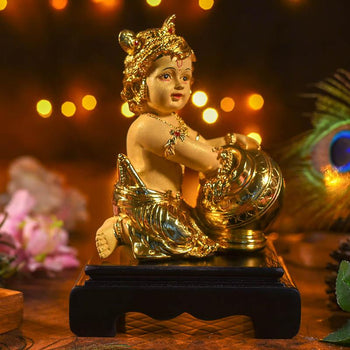 Golden Laddu Gopal