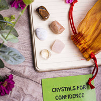 Confidence Crystal Healing Tumble Stone Set