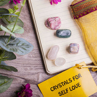 Self Love Crystal Healing Tumble Stone Set