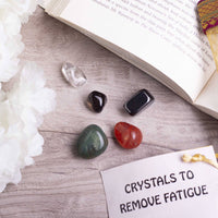 Remove Fatigue Crystal Healing Tumble Stone Set