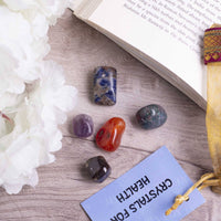 Health Crystal Healing Tumble Stone Set