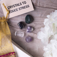 Reduce Stress Crystal Healing Tumble Stone Set