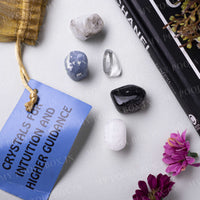 Intuition & Higher Guidance Crystal Healing Tumble Stone Set