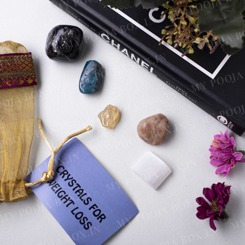 Weight Loss Crystal Healing Tumble Stone Set