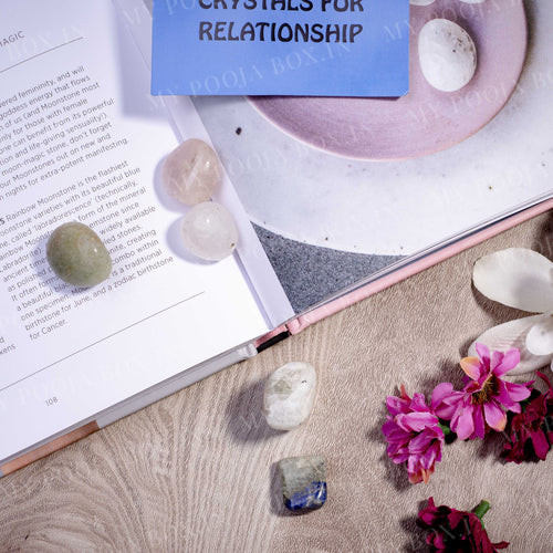 Relationship Crystal Healing Tumble Stone Set