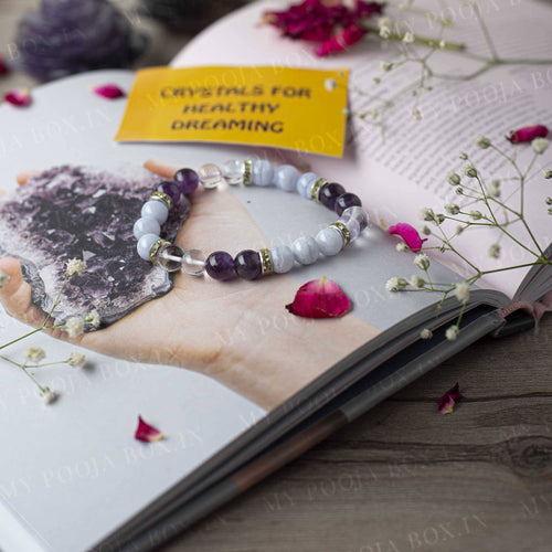 Healthy Dreaming Natural Crystal Healing Bracelet