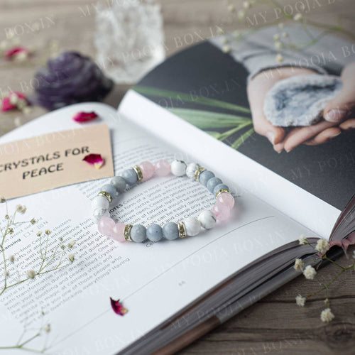 Peace Natural Crystal Healing Bracelet