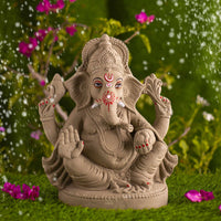 1.2FEET Haridra Eco-Friendly Ganpati | Plant-A-Ganesha