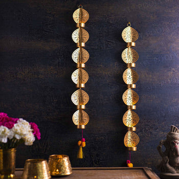 Ella Wall Decor Diya Holder (Set of 2)