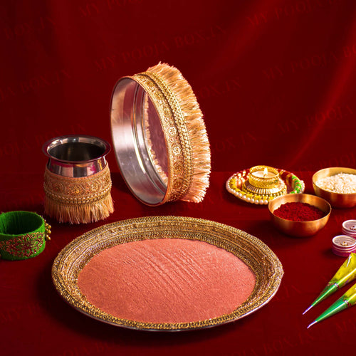 Rosie Karwa Chauth Traditional Thali Set