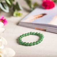 Green Jade Bracelet (Stone of Heaven)