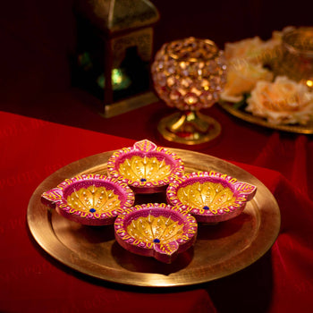 Classic Diwali Diya (Set of 4)