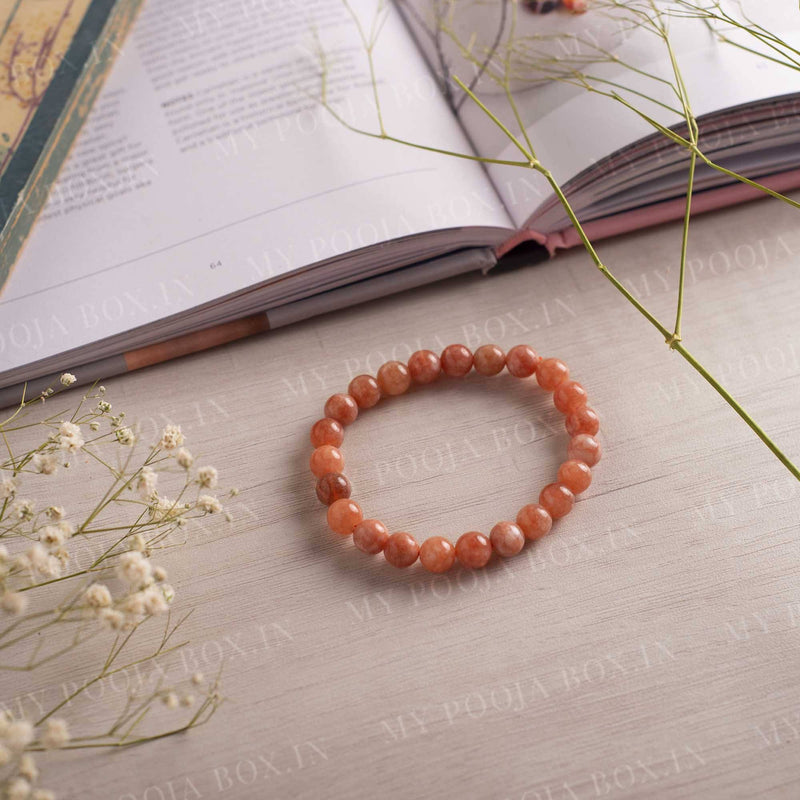 Sunstone Bracelet for Good Luck & Fortune