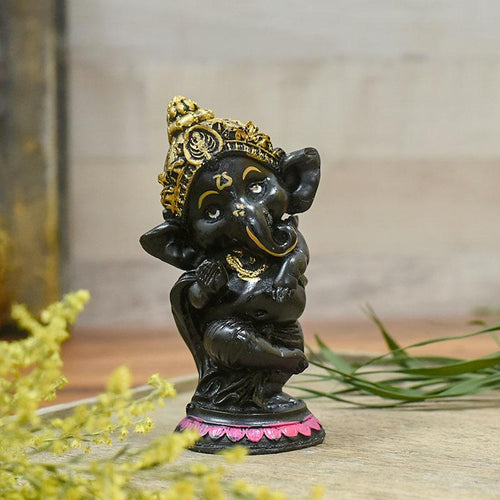 Dancing Lord Ganesha (Set of 4)