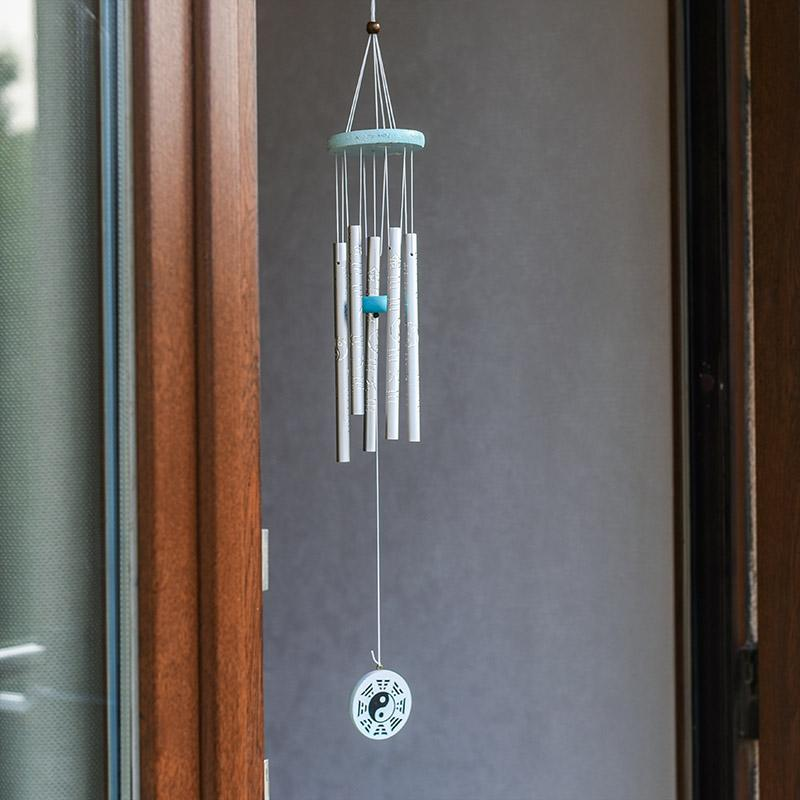 Feng Shui Yin Yang Pipe Wind Chime for Prosperity