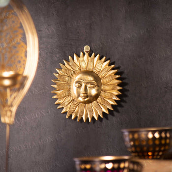 Surya (Brass Wall Hanging)