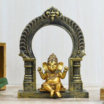 beautiful swinging bal ganesha idols online