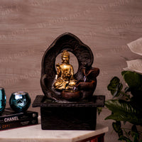 Meditating Buddha Water Fountain