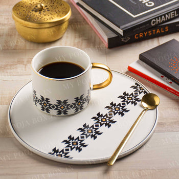 Exclusive  Livid Cup, Spoon and Saucer Set