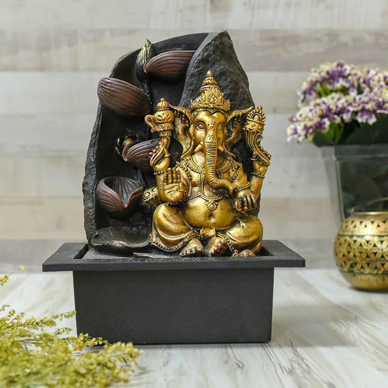 Decorative Ganesha Water Fountain