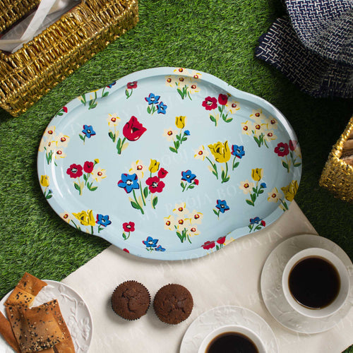 Multicolor Serving Tray