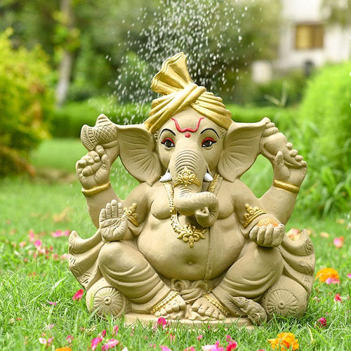 1.5 FEET Gaurik Eco-Friendly Ganpati | Plant-A-Ganesha