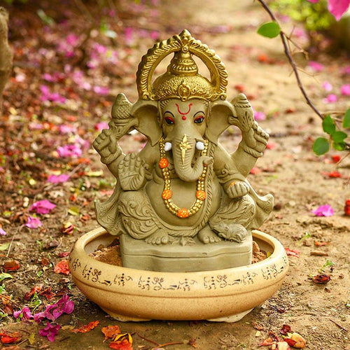 1 FEET Manomay Eco-Friendly Ganpati⎮Plant-A-Ganesha