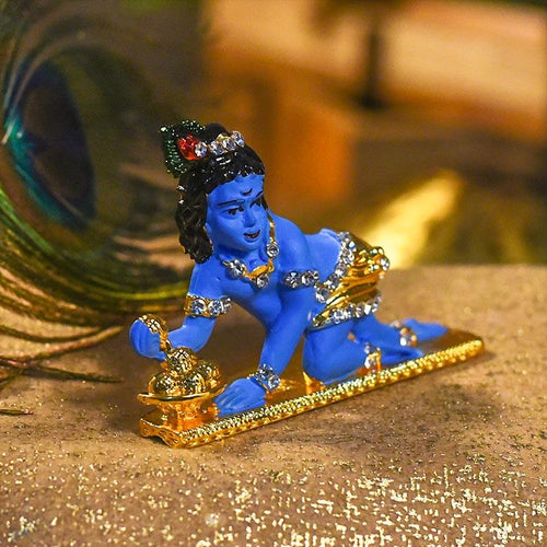 Bal Gopal Diamond Studded Idol