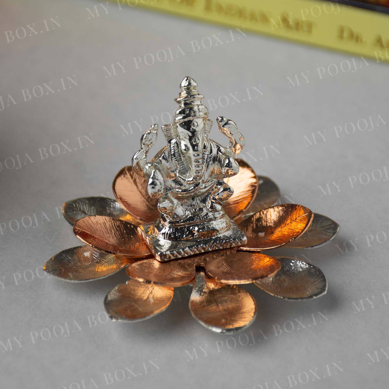 Exclusive Silver Plated Lord Ganesh Idol