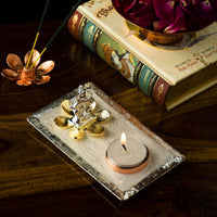 Solitude Ganesha Tealight Showpiece