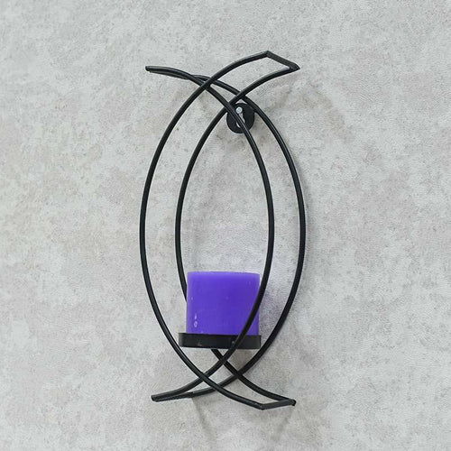 Arc Shaped Tea Light Candle Holder