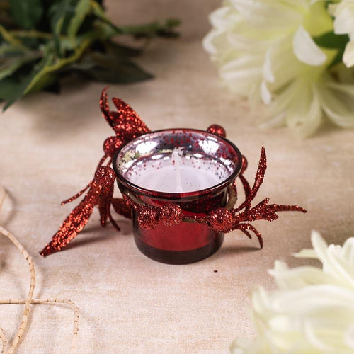 Floral Decorative Candle