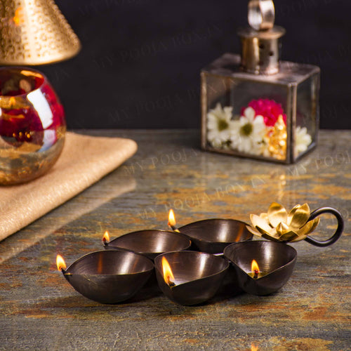 Handcrafted Copper Lota for Pooja