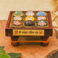 Splendid Nav Grah Chowki for Good Luck and Prosperity