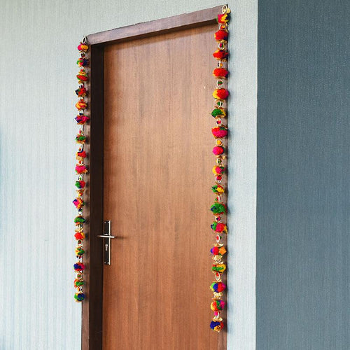 Traditional Multicolor Door Hangings