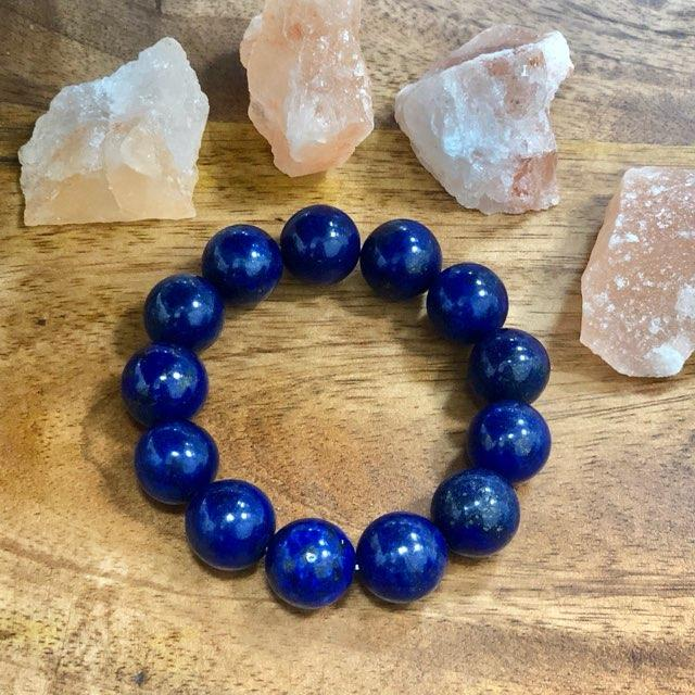 Compassion and Life - Lapis Lazuli Band/ Bracelet