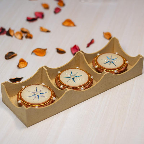 Diya Shaped Candles