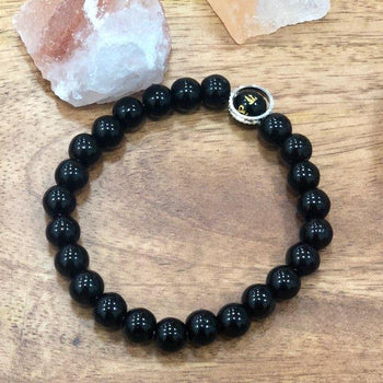 Black Tourmaline Reiki Protection & Energy Band/Bracelet