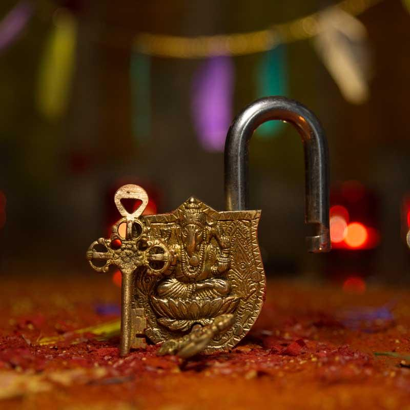 Antique Ganesha Lock