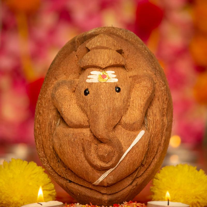 Eco Friendly Nariyal Ganesha