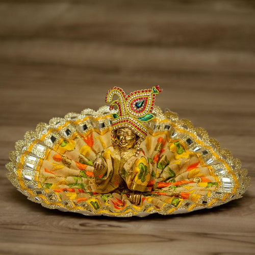 Laddu Gopal Dress With Mirror Work
