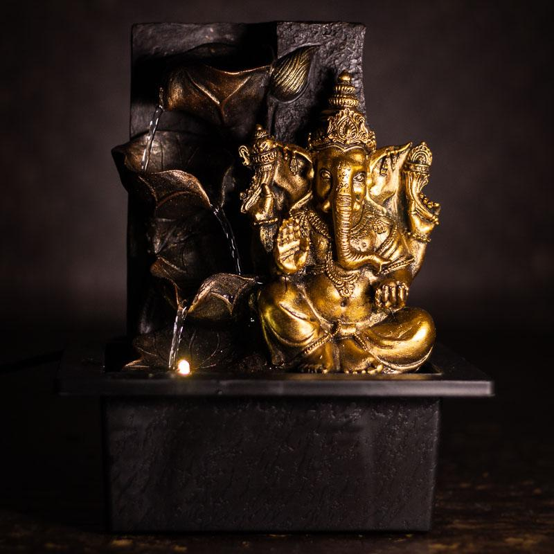 Ganesh Ji Leafy fountain