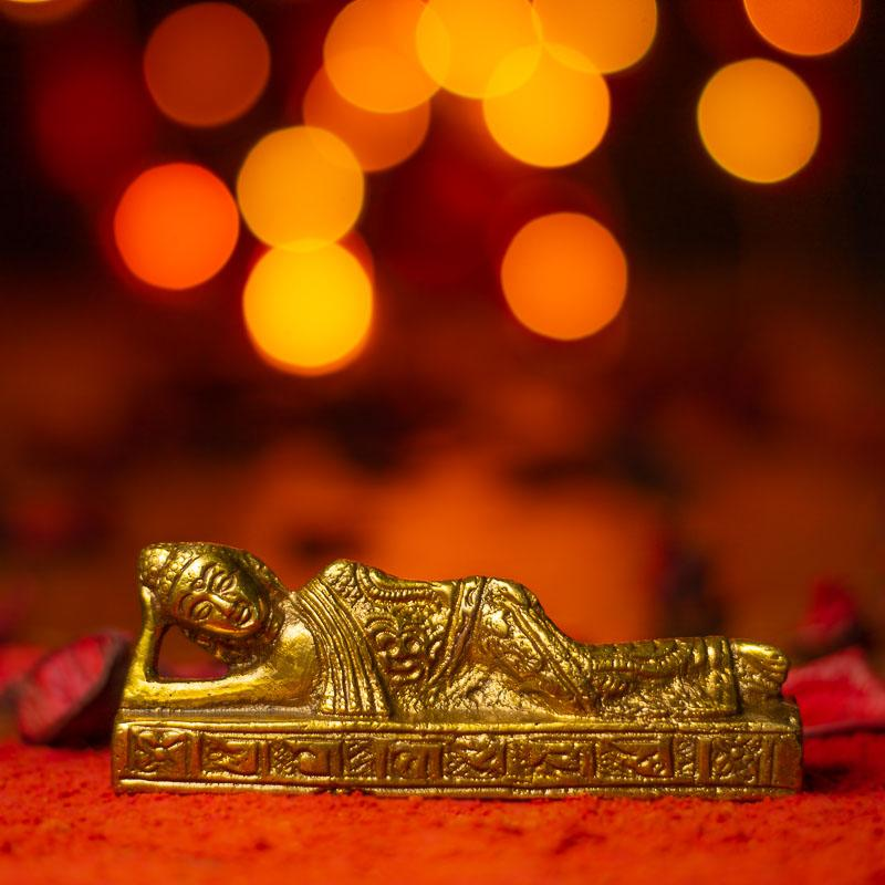 Antique Sleeping Buddha Idol