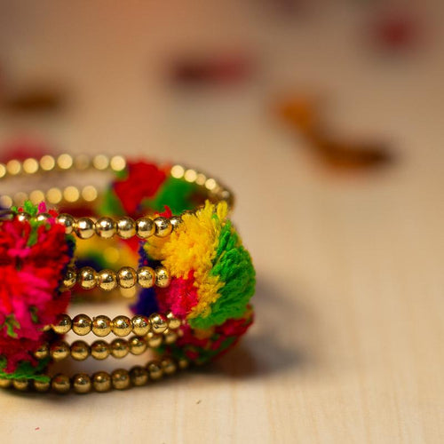 Colourful Statement Bangles