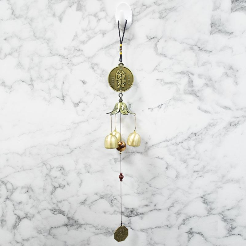 Feng Shui Traditional Bells Coins Wind Chime for Prosperity