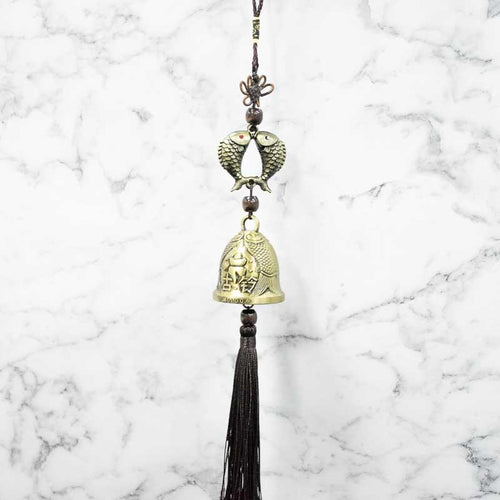 Feng Shui Traditional Bell Fish Tassel Wind Chime