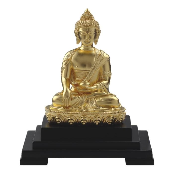 24K Gold Foil Small Buddha