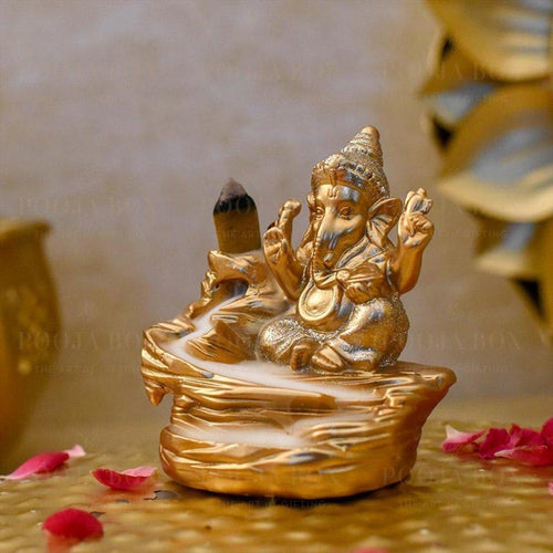 Bala Ganpati Backflow Incense Holder