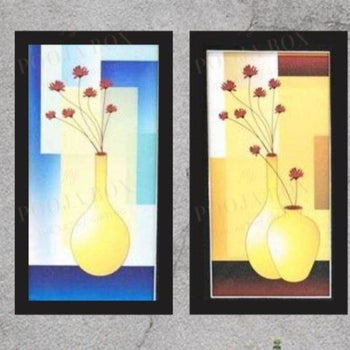 Decorative Abstract Three Piece Painting For Home Decor Framed Paintings